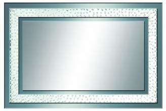 Benzara Chishui Rectangle Wall Mirror - 47W x 32H in.