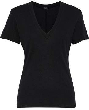 Monrow Cotton And Modal-Blend Jersey T-Shirt
