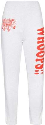 Ashley Williams high-waisted 'whoops' sweatpants
