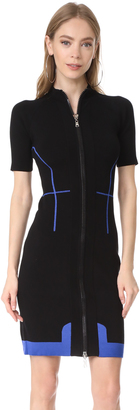 Mugler Scuba Knit Dress $1,690 thestylecure.com