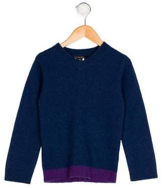 Little Marc Jacobs Boys' Wool Colorblock Sweater