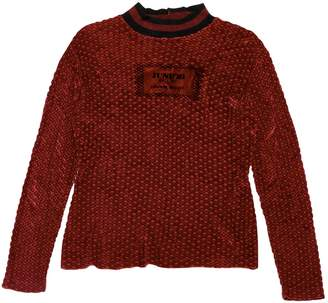 Gaultier Junior Red Synthetic Knitwear