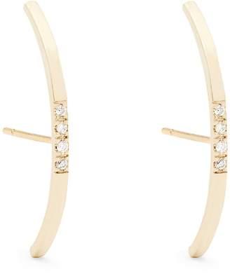 Loren STEWART Diamond & yellow-gold earrings