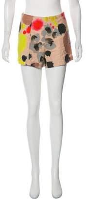 Cacharel Printed Mini Shorts