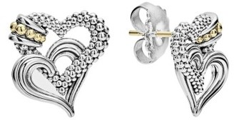 Women's Lagos Beloved Stud Earrings $350 thestylecure.com