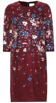 Erdem Emma floral silk crêpe shift dress