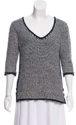 Calypso Short Sleeve Knit Top