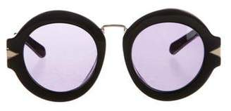 Karen Walker Maze Round Sunglasses w/ Tags