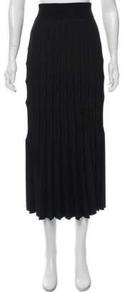 Barbara Casasola Textured Midi Skirt
