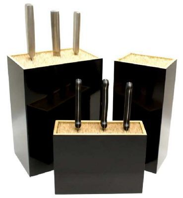 Mikoto Knife Block Large - Black
