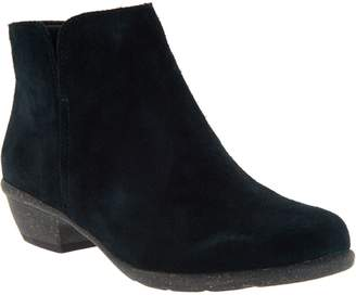 Clarks Leather Ankle Boots- Wilrose Frost