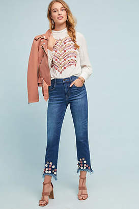 Ella Moss The High-Rise Straight Ankle Jeans