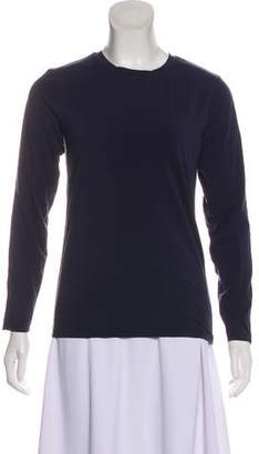 Tory Sport Long Sleeve Striped Top