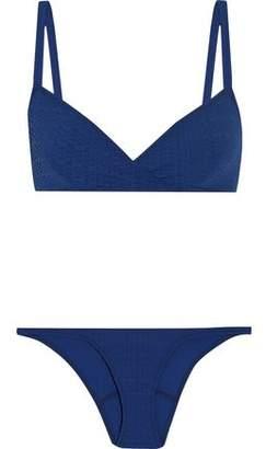 Lisa Marie Fernandez Yasmin Seersucker Bikini
