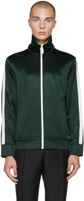 Burberry Green Track Sweater $595 thestylecure.com