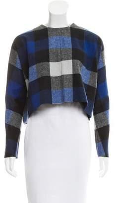 Nicholas Cropped Wool-Blend Top