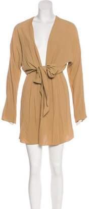 Michael Kors Silk-Blend Dress