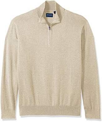 Dockers Cotton Quarter Zip Long Sleeve Sweater