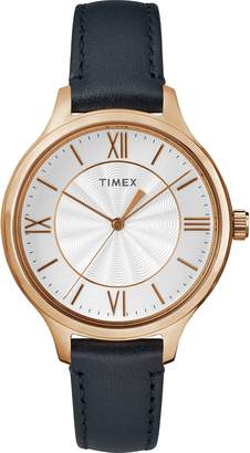 Timex Women's TW2R82300 Peyton Leather Strap Watch