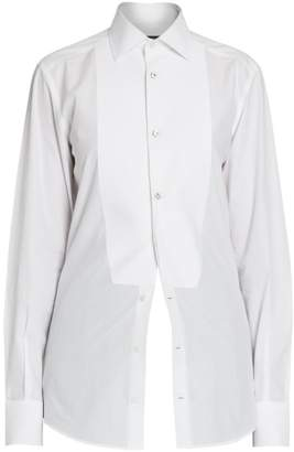 35be62e5a798 Women's Fitted Tuxedo Shirt - ShopStyle UK