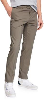 Joe's Jeans Men's Flat-Front Tech Pants, Khaki