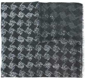 John Varvatos geometric pattern scarf