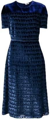 Fendi all-over print dress