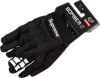 Fox Racing Supreme Bomber Light Gloves - 'SS 18' - Black