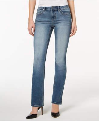 Earl Jeans Floral-Pocket Bootcut Jeans