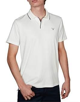 Gant O2. Solid Tp Jersey Short Sleeve Rugger