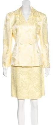 Christian Dior Knee-Length Skirt Set