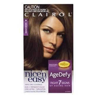 Clairol Nice'n Easy Age Defy Permanent Hair Colour 5 Medium Brown 1 pack