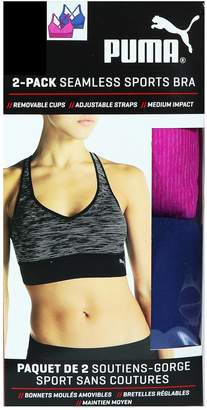 Puma Inc Seamless Sports Bra - 2 Pack