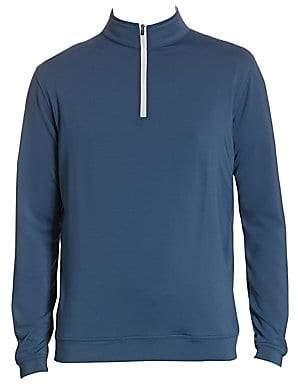 Peter Millar Men's Quarter-Zip Pullover