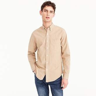 J.Crew Tall stretch one-pocket chambray shirt