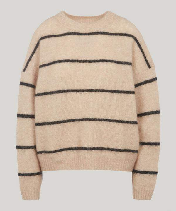 Rhira Thin Striped Knitted Jumper
