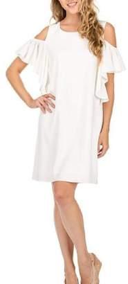 Jade Open Shoulder Dress