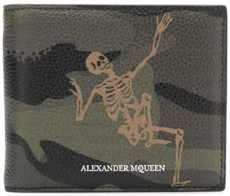 Alexander McQueen Skull print wallet