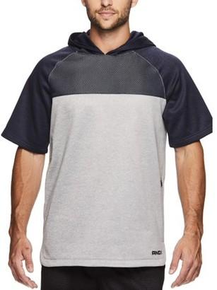 AND 1 AND1 Men's Fleece Short Sleeve Hoodie