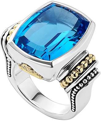Lagos 'Caviar Color' Large Semiprecious Stone Ring