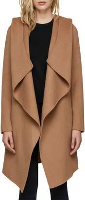 Soia & Kyo Hooded Wool Blend Coat