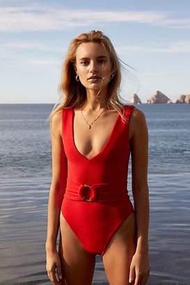 Montce Swim Kim One-Piece Swimsuit with Belt