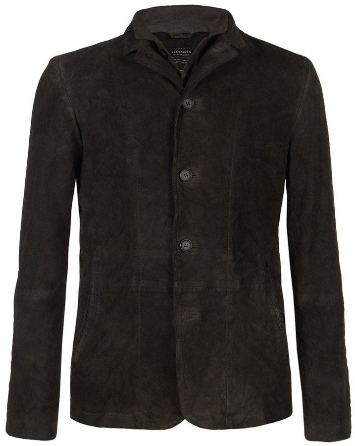 AllSaints Surmise Leather Blazer