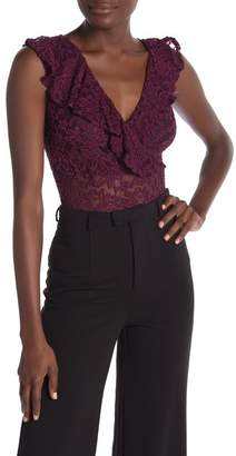 Love by Design Crochet Lace Bodysuit