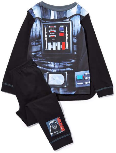 Star Wars Boy's Novelty Pyjamas - Black