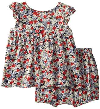 Ralph Lauren Floral Top Bloomer Set Girl's Active Sets