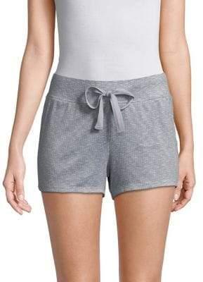 Roudelain Rib-Knit Short Shorts