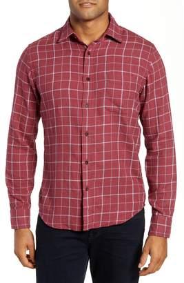 Faherty Ventura Windowpane Sport Shirt