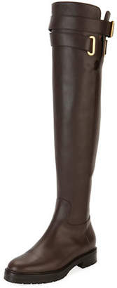 Valentino Over-the-Knee Leather Boot