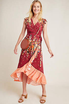 Anthropologie Farm Rio for Tesorina Wrap Dress